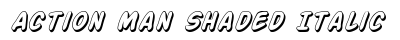 download Action Man Shaded Italic