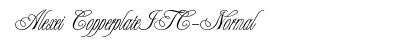 Alexei Copperplate ITC Normal preview