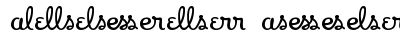 Apricot - Ligatures One preview