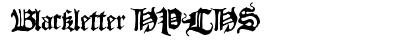 download Blackletter HPLHS