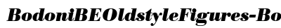 download Bodoni BE Oldstyle Figures Bold Italic
