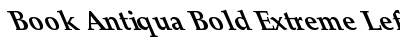 Book Antiqua Bold Extreme Lefty preview