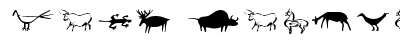 Cave Painting Dingbats preview