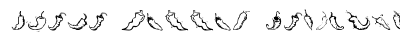 Chili Pepper Dingbats preview