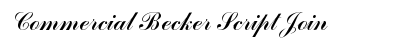 Commercial Becker Script Join preview