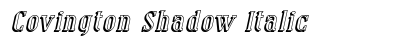 Covington Shadow Italic preview