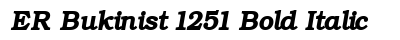 ER Bukinist 1251 Bold Italic preview