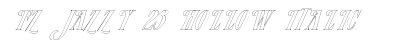 download FZ JAZZY 23 HOLLOW ITALIC