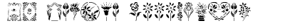 GE Floral Stencils preview