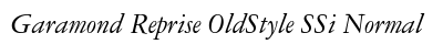 Garamond Reprise Old Style SSi Normal preview