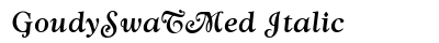 Goudy Swa T Med Italic preview