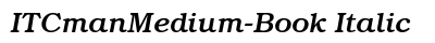 IT Cman Medium Book Italic preview