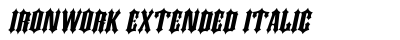 Ironwork Extended Italic preview