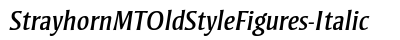 download Strayhorn MT Old Style Figures Italic
