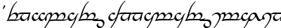 download Tengwar Annatar Italic